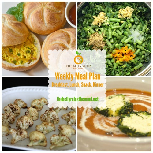 Meal Plan for Mar 14 to Mar 20 with Recipes