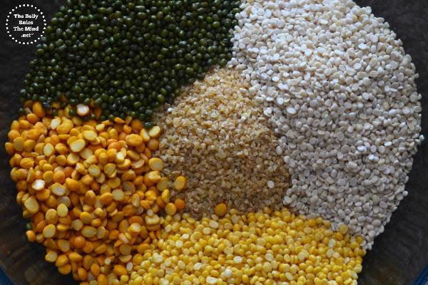 lentils/Dal