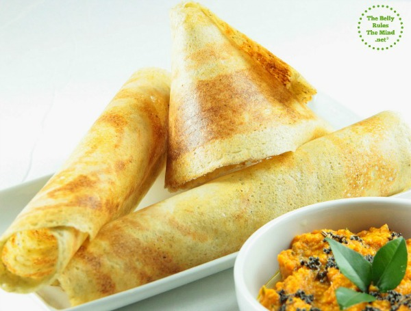 Mix dal, daliya &oats dosa/crepes