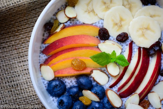 Chia Seeds Breakfast Bowl