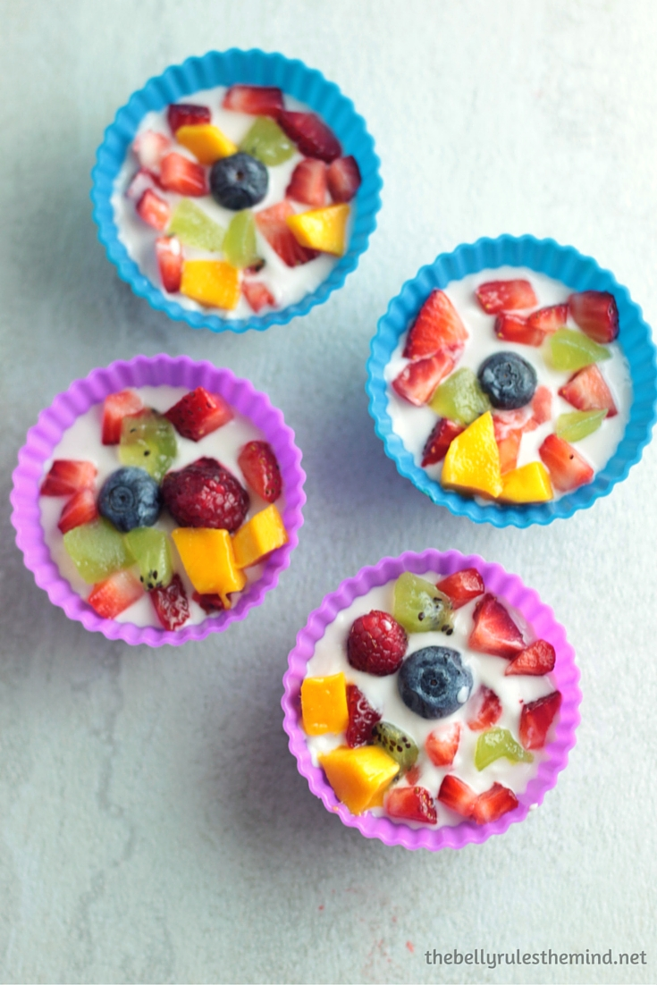 frozen yogurt bites