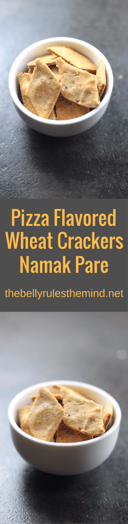 pizza flavored wheat crcakers