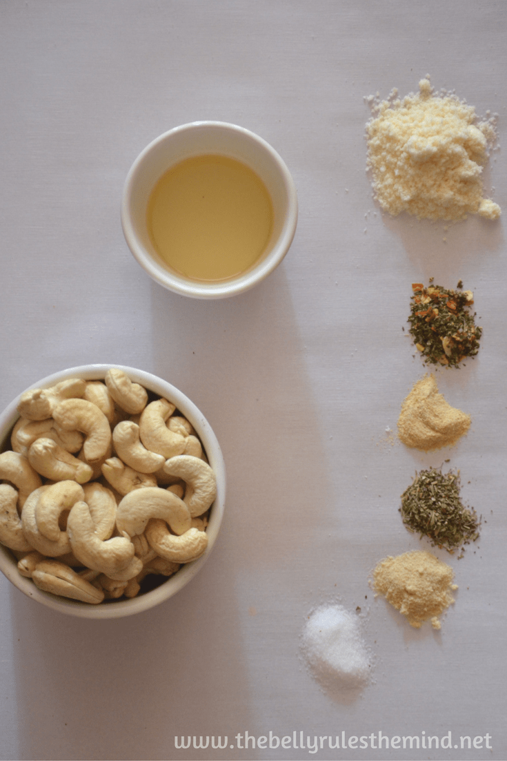Roasted Cashew nuts ( 3 Flavors ) | The Belly Rules The Mind