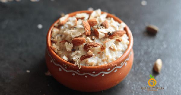 Instant Oats Kheer / Pudding (V +GF)