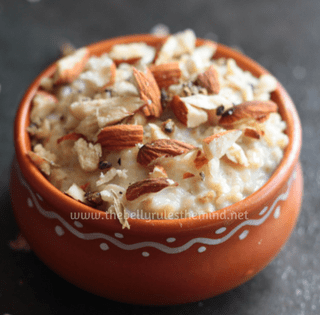 Indian Style Oats Porridge