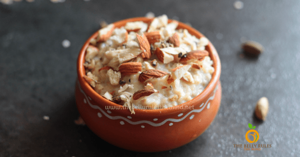 Instant Oats Kheer / Pudding