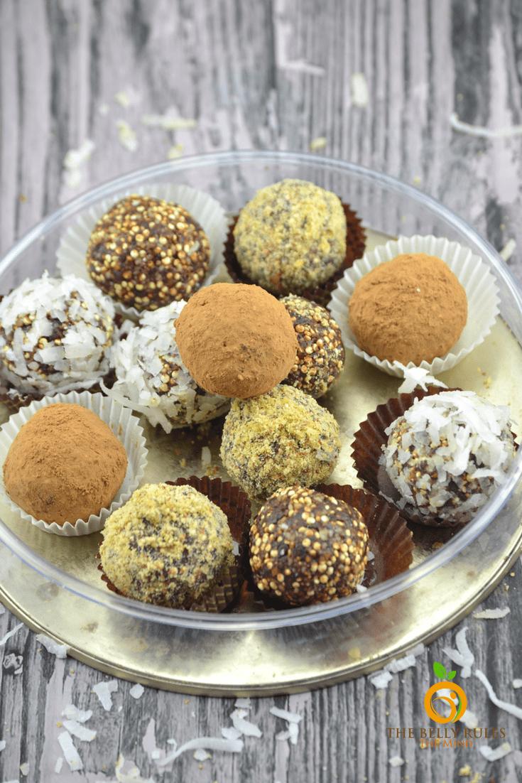 how to make chocolate fudge balls