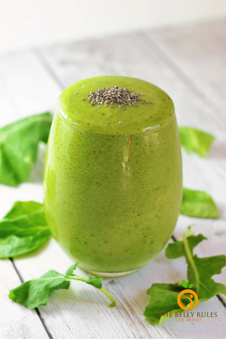 Pineapple Kiwi Green Smoothie
