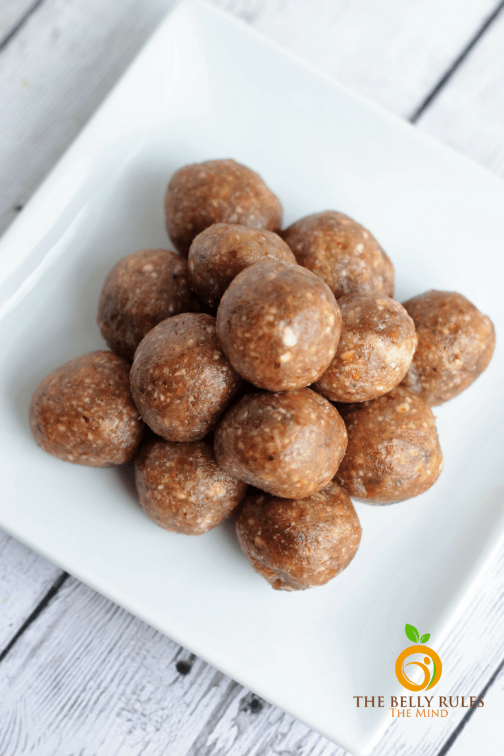 Dry Fruit Energy Balls Laddoos