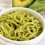 Avocado Basil Pesto Spaghetti (V +GF)