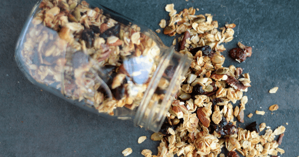 Easiest Ever Pumpkin Spice Granola (V+GF)