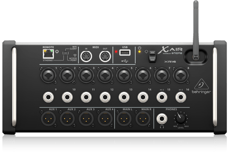 Behringer XR-16 interface
