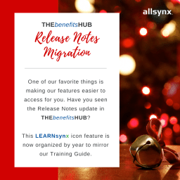 12 Days of Christmas – Release Notes Migration