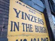 You're in yinzer country now . . .