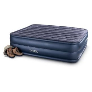Best Raised Queen Air Mattress Intex Raised Downy Queen Airbed With Built In Electric Pump