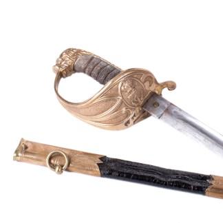 M-1827 British Navy Officer's Sword