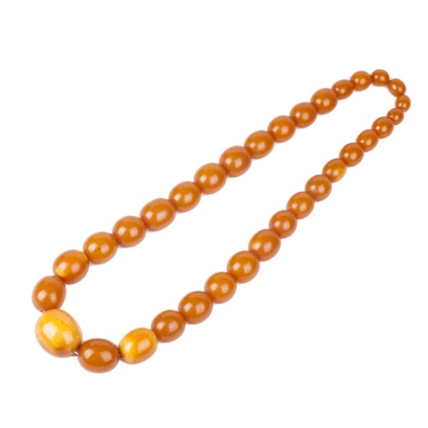 Antique amber necklace