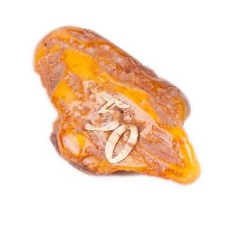 Antique Baltic amber stone