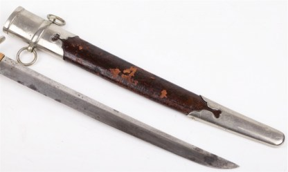 Rare Japanese Foresters Dirk Dagger