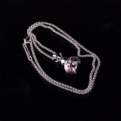 Chopard Happy Diamonds ladybird necklace