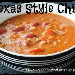Texas Style Chili