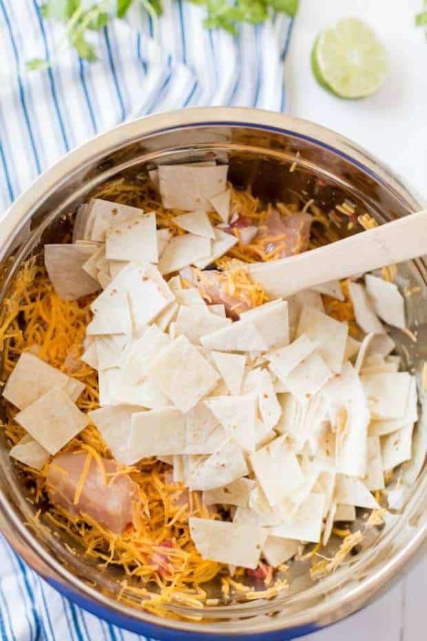 Best Mexican Chicken Casserole
