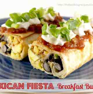Mexican Fiesta Breakfast Burritos
