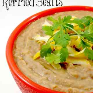Easy Homemade Refried Beans!