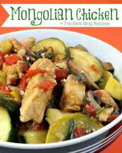 Mongolian Chicken Recipe from The Best Blog Recipes