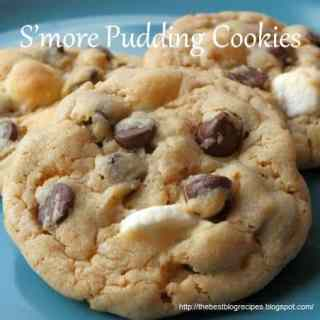 S'more Pudding Cookies