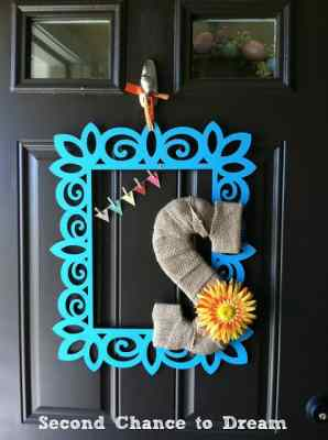 DIY Spring Door Hanging