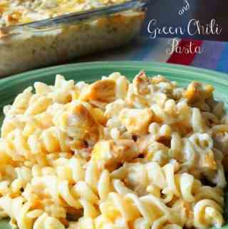 Chicken and Green Chili Pasta