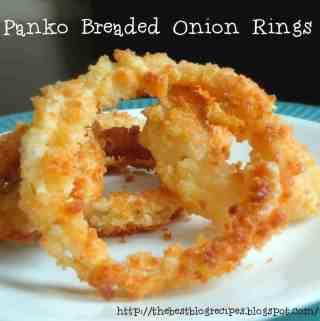 Panko Breaded Onion Rings