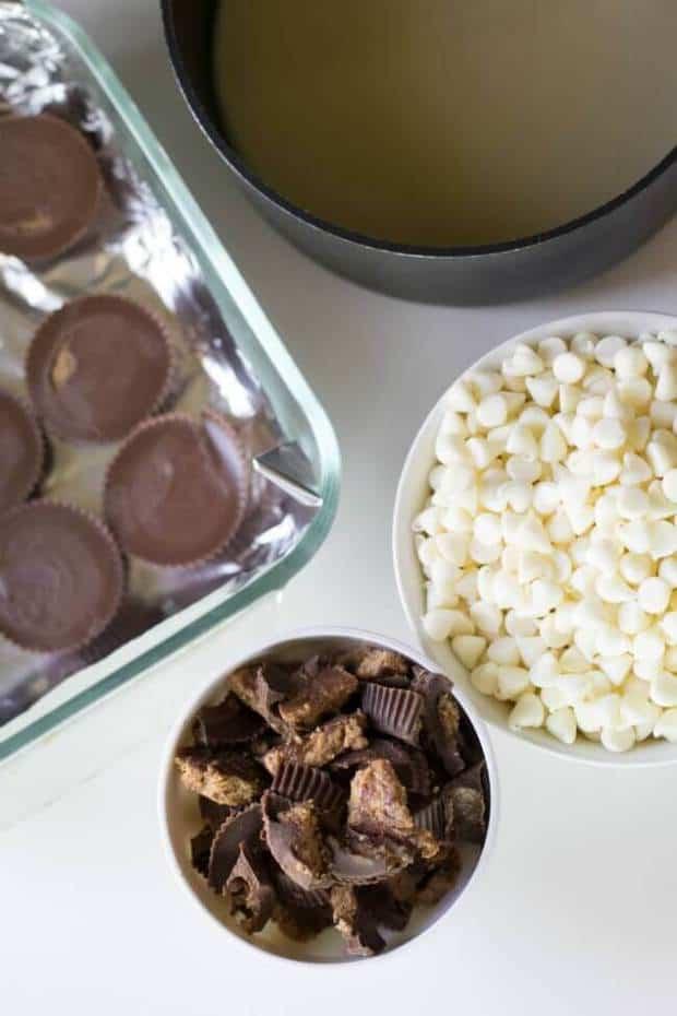 white-chocolate-reese-fudge
