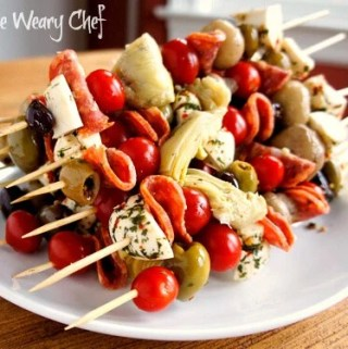Antipasto Skewers: Impress your guests with this easy appetizer!