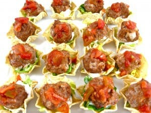 Mini-Mexican-Meatball-Tostadas-Appetizers-photo-1-300x225