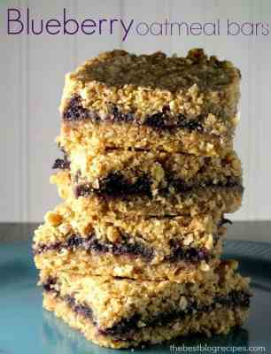 Blueberry Oatmeal Bars  The Best Blog Recipes