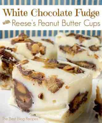 Chocolate Reese's Peanut Butter Fudge Bites