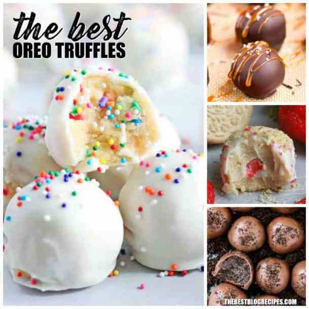 The Best Oreo Truffles
