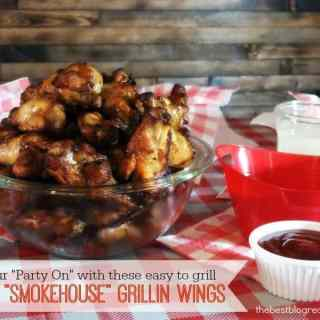 "#ad Get Your ""Party On"" with these EASY grilling ideas w/ Tyson Smokehouse Grillin Wings"