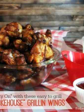 """#ad Get Your """"Party On"""" with these EASY grilling ideas w/ Tyson Smokehouse Grillin Wings"""