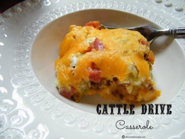 Cattle Drive Casserole | The Best Blog Recipes Casserole Recipe Round Up