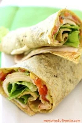 Chipotle Turkey Wrap | The Best Blog Recipes