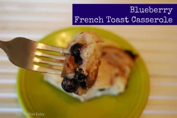 Cinnamon Blueberry French Toast Casserole | The Best Blog Recipes Casserole Recipe Round Up