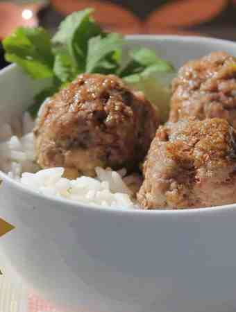 Asian Inspired Meatballs