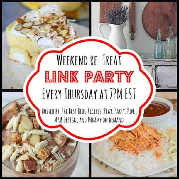 The Weekend re-Treat Link Party #79 thebestblogrecipes.com