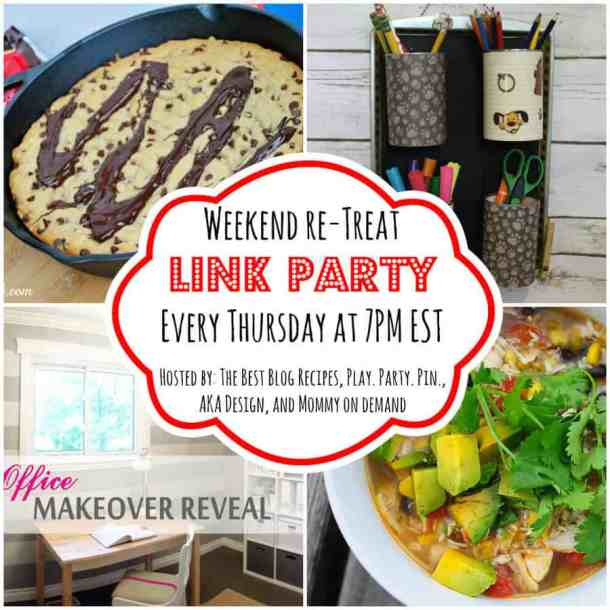 The Weekend re-Treat Link Party #81