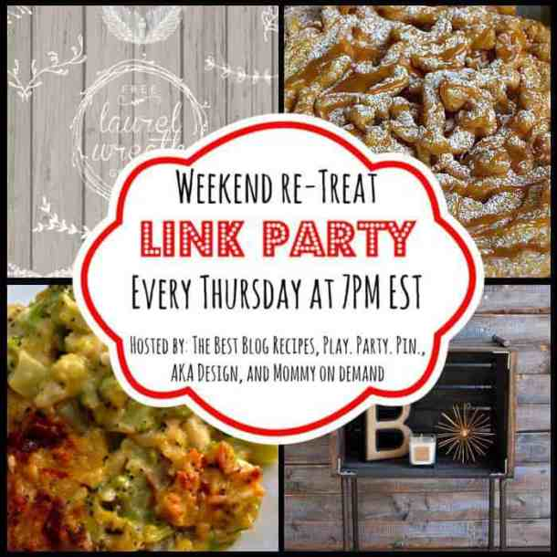 The Weekend re-Treat Link Party #83 | thebestblogrecipes.com