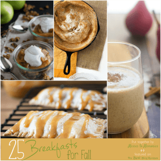 25 Breakfasts for Fall