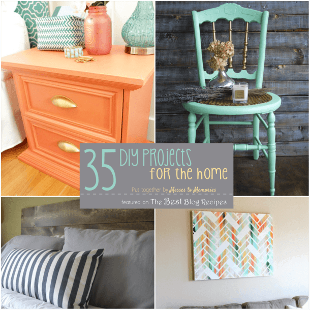 35 DIY Projects for the Home | thebestblogrecipes.com